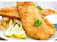 Experienced fish fryer to work in busy fish and chip shop in preston