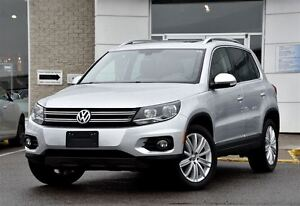 2013 Volkswagen Tiguan Highline / CUIR / TOIT PANO / ROUES 18''