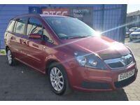 2006 (06), Vauxhall Zafira 1.8 i 16v 5dr MPV, 3 MONTHS AU WARRANTY, £1,495 ONO
