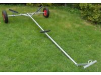 Launching Trolley for Dinghy Boat Tender