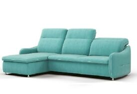 ASTI Corner Sofa Bed *** Adjustable headrests *** Sleeping function *** Best Quality ***