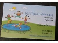 Childminder offering babysitting can do short notice