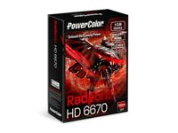 Powercolor Radeon HD6670 1GB Graphics Card
