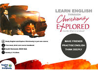 Practise English and Explore Christianity in just one course!