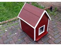 Wooden Cat House Kennel Small Pet Kitty Outdoor Rabbit Home Shelter Garden Home