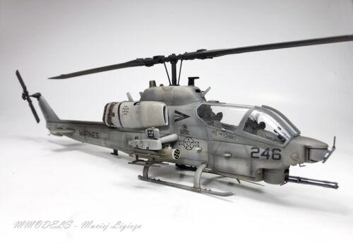 AH-1W Super Cobra  -  1:48 - built and painted (Pro-Built) - MModels