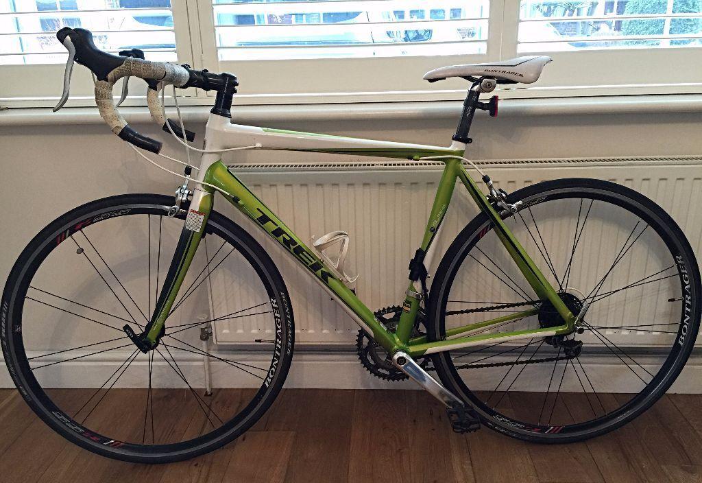 Trek Madone 2 3 C H2 Road Bike Lime Green Crystal White