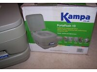 KAMPA PORTAFLUSH 10 Portable Toilet.camping, motorhomes, boats, caravanning for sale  Perth and Kinross