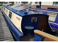 Charming 55ft cruiser stern narrowboat - ideal for CC-ing or mooring