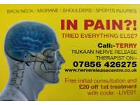 Pain Relief With Nerve Release!