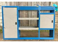 Van Racking / Shelving - BRI-STOR - Ford Transit - V Good Condition - Tool Station