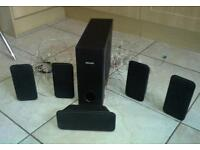 Philips 6-speaker surround sound kit