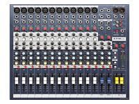 Soundcraft EPM12 Mixer. 12 channel sound desk