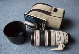 Canon EF lens 100-400 mm f/4.5-5.6 L IS USM