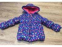 Mothercare Girls Coat Age 4-5