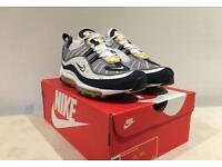 Nike Air Max 98   Tour Yellow   Size UK 10