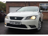 SEAT Leon 2013 1.6 SE TDI White *Tax Free!* Great Condition Excellent wee car