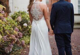 Demetrios Wedding Dress For Sale, Size 12/14