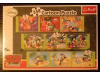 Disney 'Mickey Mouse & Friends' 348 Cartoon Puzzle (new)