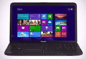 Toshiba C850/ INTEL i3 2.30 GHz/ 4 GB Ram/ 320 GB HDD/ HDMI / WEBCAM/ USB 3.0/ WINDOW 7