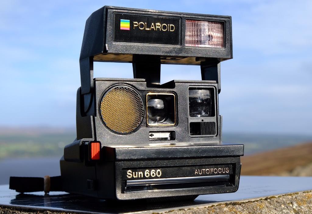 Polaroid 660 Instant Camera