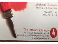 Painter and decorator only domestic work please