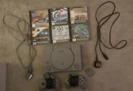 Retro PlayStation 1 console bundle