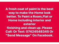 Paint House Room Or Flat