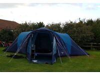 Vango Diablo 600 Tent (6 berth) and Equipment plus Spare Vango Diablo 600 tent!