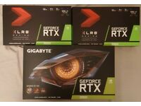 PNY + Gigabyte RTX 3060 Graphics Card - Brand New **OPEN TO OFFERS**