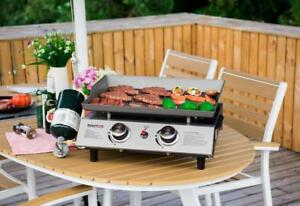 "17.6"" flat top propane flat top  grill - brand new - FREE SHIPPING"