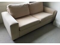 Large Sofabed with sprung mattress