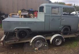 1971 vw double cab pick project