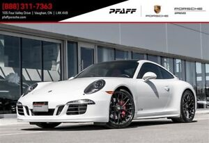 2015 Porsche 911 Carrera 4 GTS Coupe PDK - LOW KMS, BLACK/RED