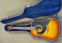 Epiphone 1970's Acoustic Guitar RARE Ex. w/ Case Mikes Music