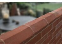 RECLAMATION SOFT RED PLINTH STRETCHER BRICKS = £4.75 EACH