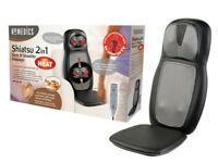Homedics shiatsu back and shoulders massager with heat