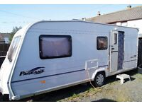 BAILEY PAGEANT CHAMPAGNE 4 BERTH 2006 WITH FULL AWNING