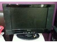 Soundwave, lcd 19inch combi dvd player, tv without remote, HDMI port