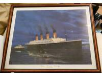 TITANIC picture in a nice frame