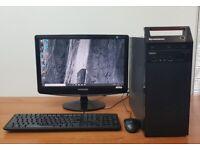 Lenovo PC Computer Windows 10, Intel i5-4460 8GB RAM & 500GB HDD