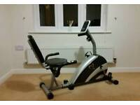 Vfit Exercise Bike - V-fit BST-RC Recumbent Magnetic Cycle