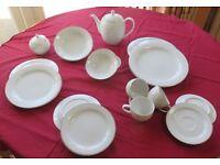 46 piece Dinner and Tea service