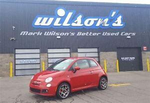 2013 Fiat 500 SPORT LEATHER! NEW TIRES+BRAKES!! HEATED SEATS! AL