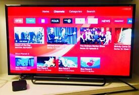 TV SONY BRAVIA 40 Inch Full HD Freeview HD LED - as new condition