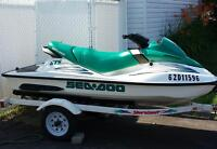 Seadoo Bombardier gts 3 places 2001