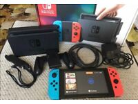 Nintendo Switch Console - Immaculate Condition