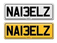 Asian cherished number plates