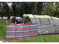 Urban escape Atago 5 man tent + 7 gas canisters/ kettle/pans