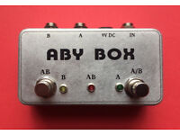 ABY Selector Combiner Switch AB Box New Pedal Footswitch